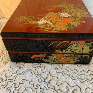 Japanese Jubako Two Layer Box